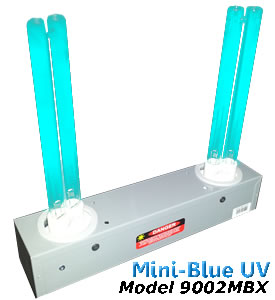 Mini-Blue Air Duct Mounted UV Air Purifiers